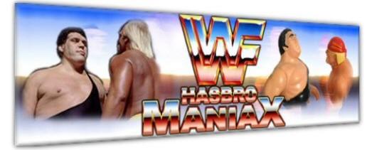 WWF HASBRO MANIAX LE FORUM